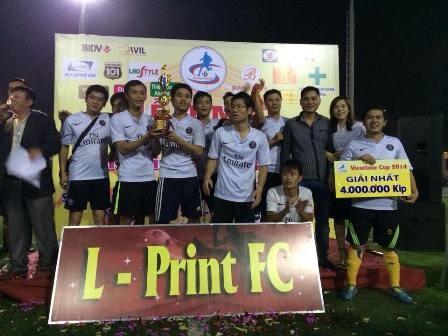 Giải bóng đá chào mừng 70 năm Quốc khánh Việt Nam tại  Lào - ảnh 1