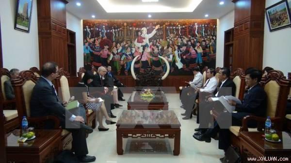 Đại sứ lưu động phụ trách Tự do tôn giáo quốc tế, Bộ NG Hoa Kỳ thăm, làm việc tại các địa phương   - ảnh 1