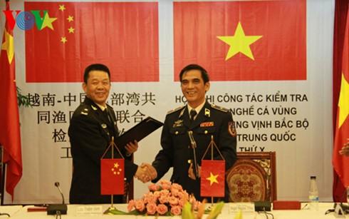 Việt Nam và Trung Quốc kiểm tra liên hợp nghề cá Vịnh Bắc bộ lần thứ 11 - ảnh 1