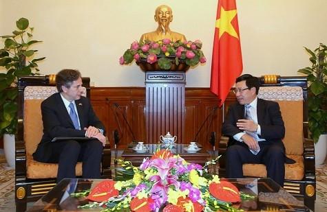 Việt Nam và Hoa Kỳ tăng cường hợp tác, phát triển quan hệ Đối tác toàn diện - ảnh 1