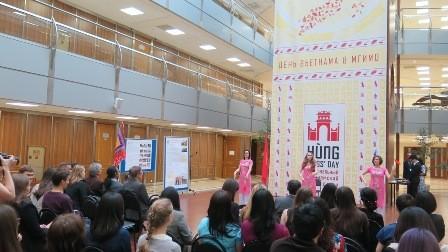 Lễ hội Hùng Vương với sinh viên Việt Nam và Nga tại Học viện Ngoại Giao Quốc gia Moskva - ảnh 4