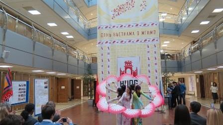 Lễ hội Hùng Vương với sinh viên Việt Nam và Nga tại Học viện Ngoại Giao Quốc gia Moskva - ảnh 6