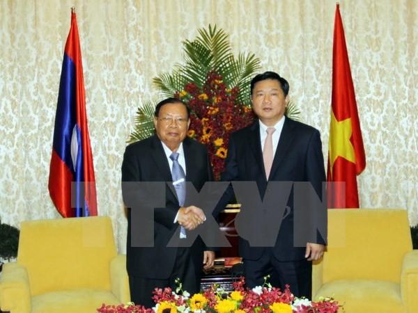 Tổng Bí thư, Chủ tịch nước Lào Bounnhang Volachith thăm thành phố Hồ Chí Minh - ảnh 1