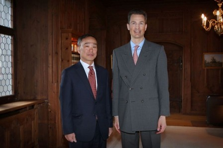 Đại sứ Việt Nam tại Công quốc Liechtenstein trình Quốc thư  - ảnh 1