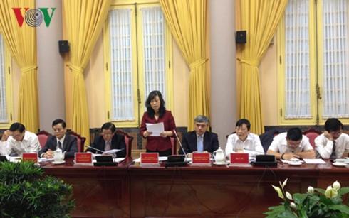 Công bố Lệnh của Chủ tịch nước về việc công bố Luật - ảnh 1