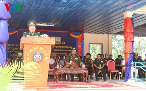 Campuchia đưa vào sử dụng công trình do quân đội Việt Nam viện trợ  - ảnh 1