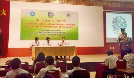 Vai trò của Ngoại giao nhân dân và hợp tác giáo dục trong quan hệ đối tác chiến lược VN - Philipines - ảnh 1