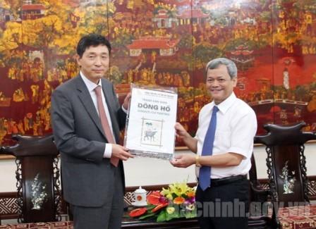 Bắc Ninh tạo điều kiện thuận lợi nhất cho doanh nghiệp nước ngoài đầu tư,  phát triển  - ảnh 1
