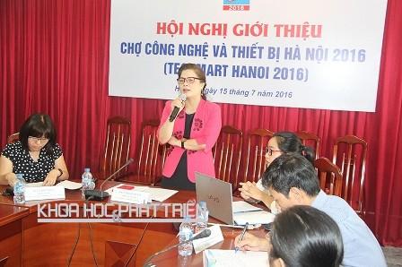 Chợ công nghệ và thiết bị Hà Nội 2016 diễn ra từ ngày 28/9 đến ngày 1/10 tại Hà Nội - ảnh 1