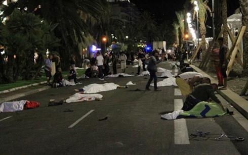Lãnh đạo Việt Nam gửi điện chia buồn vụ tấn công khủng bố tại thành phố Nice, Cộng hòa Pháp - ảnh 1