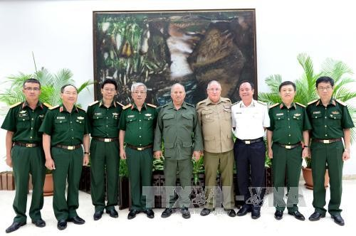 Việt Nam và Cuba đối thoại về chính sách quốc phòng  - ảnh 1