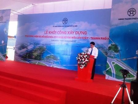 Hà Nội có thêm một khu công viên và hồ điều hòa - ảnh 1