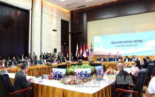 Hội nghị quan chức cấp cao ASEAN: tầm quan trọng của việc củng cố đoàn kết,thống nhất trong nội khối - ảnh 1