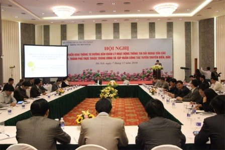 Hoạt động thông tin đối ngoại đẩy mạnh quá trình hội nhập quốc tế - ảnh 1