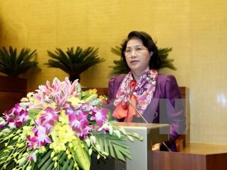 Chủ tịch Quốc hội Nguyễn Thị Kim lên đường thăm hữu nghị chính thức Cộng hòa Ấn Độ  - ảnh 1