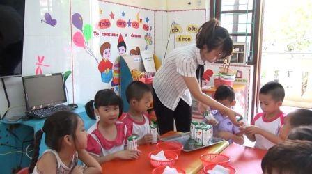 Hiệu quả của chương trình Sữa học đường ở Bắc Ninh - ảnh 1