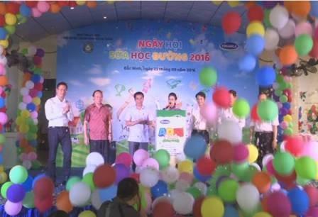 Hiệu quả của chương trình Sữa học đường ở Bắc Ninh - ảnh 2
