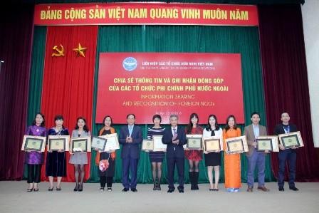 30 tổ chức phi chính phủ nước ngoài tiêu biểu được khen thưởng - ảnh 1