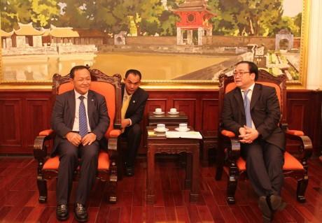 Tăng cường hợp tác giữa hai Thủ đô Hà Nội, Phnom Penh  - ảnh 1