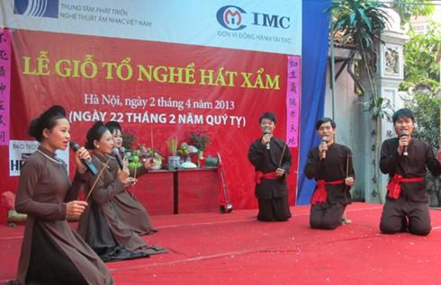 Hải Phòng tổ chức lễ giỗ Tổ nghề hát Xẩm - ảnh 1