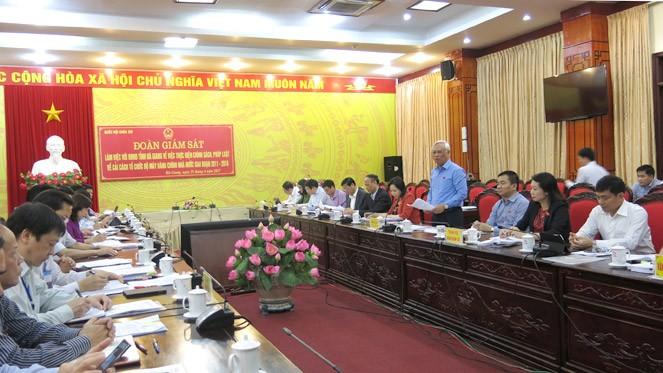 Phó Chủ tịch Quốc hội Uông Chu Lưu làm việc tại tỉnh Hà Giang  - ảnh 1