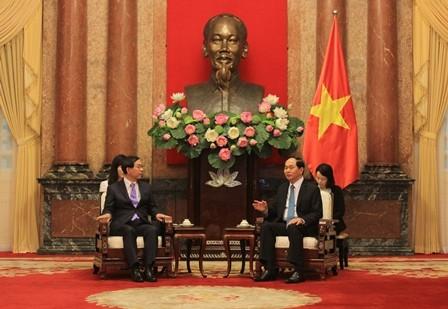 Việt Nam - Hàn Quốc tăng cường hợp tác đưa quan hệ hai nước đi vào chiều sâu - ảnh 1