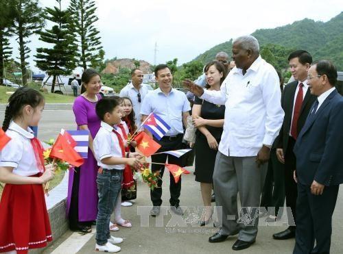 Đoàn đại biểu cấp cao của Quốc hội Cuba thăm và làm việc tại tỉnh Sơn La  - ảnh 1