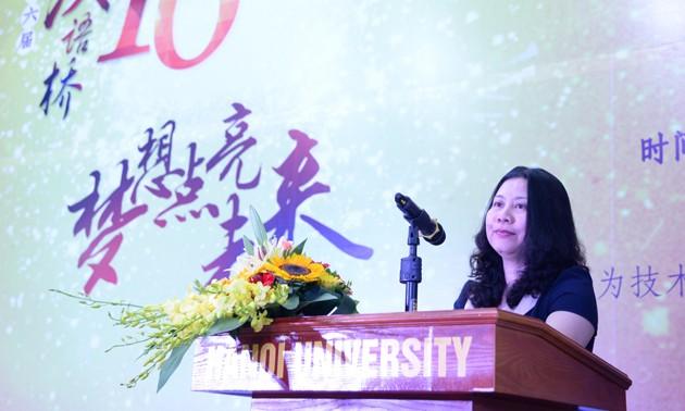 Vòng loại cuộc thi Nhịp cầu Hán ngữ lần thứ 16 khu vực phía Bắc - ảnh 5