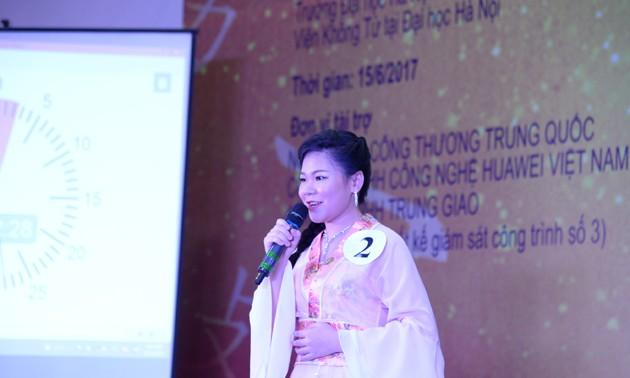 Vòng loại cuộc thi Nhịp cầu Hán ngữ lần thứ 16 khu vực phía Bắc - ảnh 9