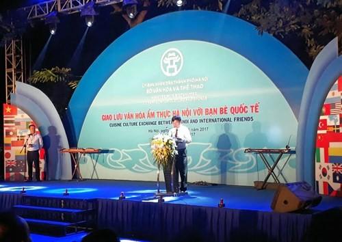 """Chương trình """"Giao lưu văn hóa ẩm thực Hà Nội với bạn bè quốc tế""""  - ảnh 1"""