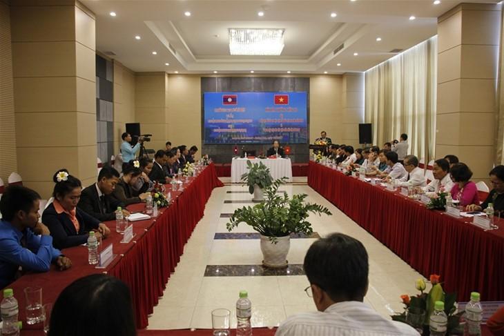 Xây dựng đường biên giới hòa bình, hữu nghị giữa Quảng Nam và tỉnh Sê Kông, Lào  - ảnh 1