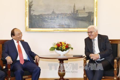 Thủ tướng Chính phủ Nguyễn Xuân Phúc: CHLB Đức là đối tác hàng đầu của Việt Nam ở Châu Âu - ảnh 1