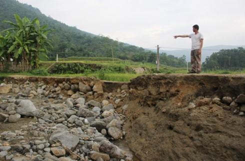 8 người chết và mất tích do mưa lũ ở các tỉnh miền núi phía Bắc - ảnh 1