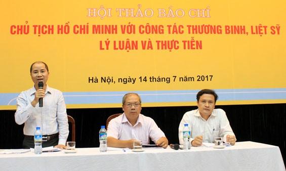 Vận dụng tư tưởng Hồ Chí Minh trong công tác nâng cao chất lượng chăm sóc người có công  - ảnh 1