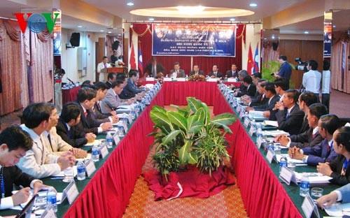Hội nghị Quốc tế Xây dựng đường biên giới Việt Nam- Lào - ảnh 1