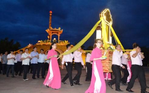 Phó Thủ tướng Vương Đình Huệ dự Đại lễ cầu siêu tưởng niệm các Anh hùng Liệt sĩ tại Quảng Trị - ảnh 1