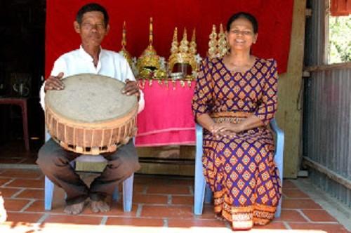 Néang Kunh Thia với ngọn lửa đam mê nghệ thuật - ảnh 1