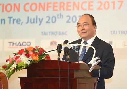 Bến Tre phấn đấu là tỉnh giàu có và năng động của cả nước, trở thành thủ phủ dừa của Việt Nam  - ảnh 1