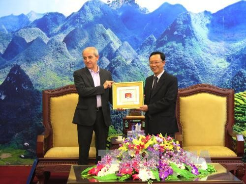 Tổng Bí thư Đảng Cộng sản Italy thăm và làm việc tại Hà Giang  - ảnh 1