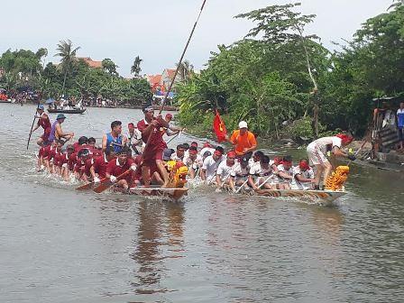 Đặc sắc lễ hội xuống đồng của người dân thị xã Quảng Yên, tỉnh Quảng Ninh - ảnh 1