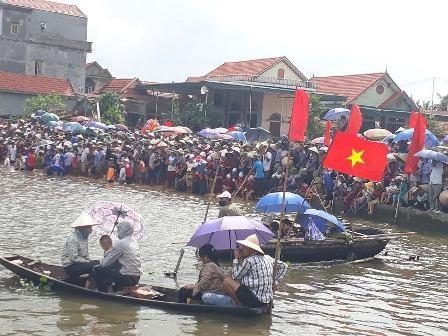 Đặc sắc lễ hội xuống đồng của người dân thị xã Quảng Yên, tỉnh Quảng Ninh - ảnh 4