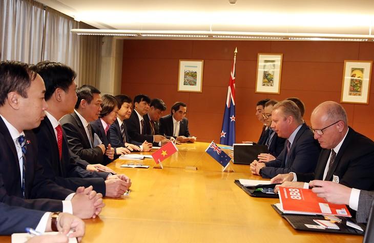 New Zealand cam kết duy trì viện trợ ODA và hỗ trợ Việt Nam trong nhiều lĩnh vực - ảnh 5