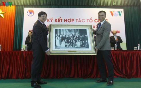 VOV và VFF ký kết hợp tác tổ chức giải Futsal vô địch Đông Nam Á - ảnh 3