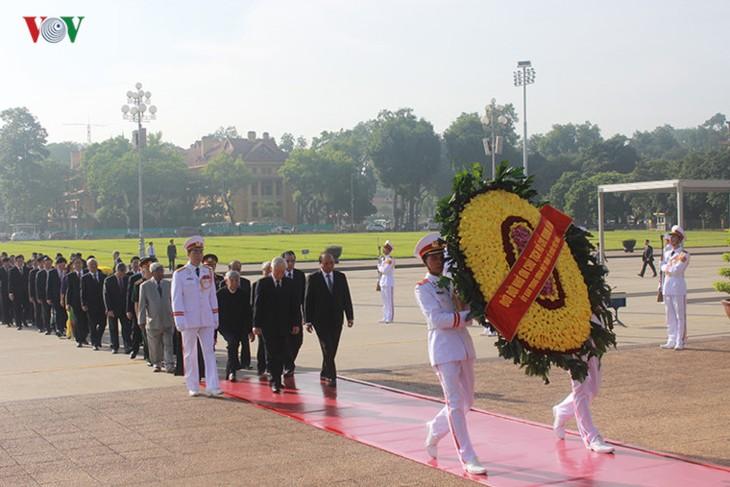 Mit tinh trọng thể kỷ niệm 70 năm ngày Thương binh, liệt sỹ (27/7/1947 – 27/7/2017) - ảnh 1