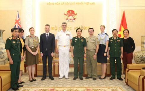 Đẩy mạnh quan hệ hợp tác quốc phòng Việt Nam - Australia  - ảnh 2