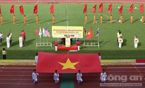 500 vận động viên tham dự giải Điền kinh quốc tế Thành phố Hồ Chí Minh - Việt Nam mở rộng  - ảnh 1