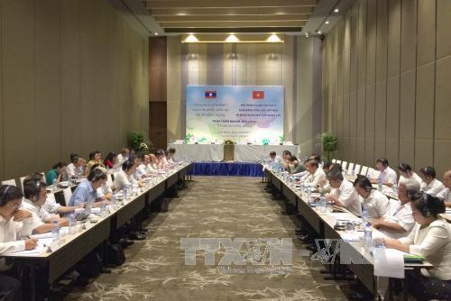 Khai mạc hội thảo lý luận giữa Đảng Cộng sản Việt Nam và Đảng Nhân dân cách mạng Lào - ảnh 1