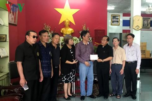 Cộng đồng  Việt tại Thái Lan chia sẻ khó khăn với bà con người Việt ở Sakon Nakhon - ảnh 1