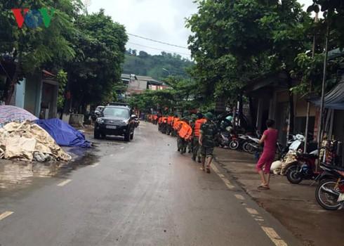 Thông tin về tình hình mưa lũ ở Sơn La và Yên Bái - ảnh 1