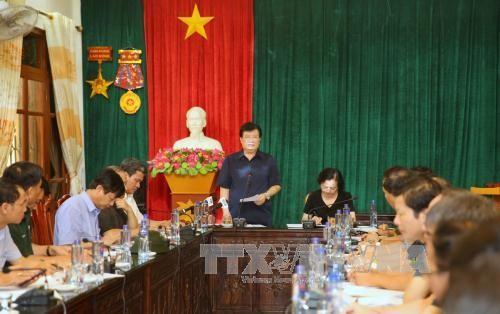 Phó Thủ tướng Trịnh Đình Dũng chỉ đạo khắc phục hậu quả thiên tai tại Mù Cang Chải  - ảnh 1